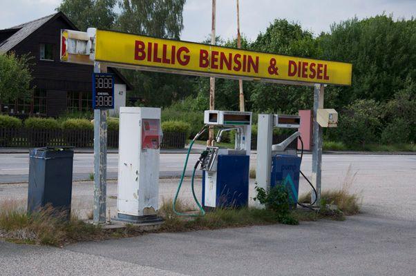 bensinmack till salu